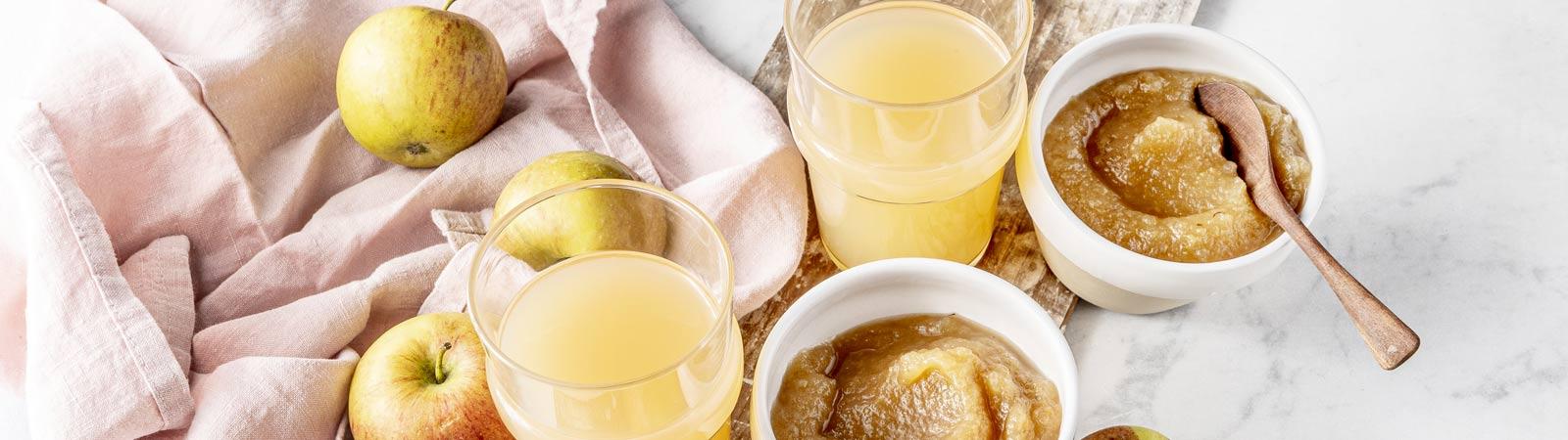 Compotes et purées de fruits