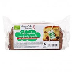 Cake anglais aux fruits tranché 250G Bio
