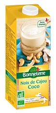 Boisson noix de cajou coco 1L Bio