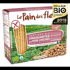 Tartines craquantes aux pois chiches sans gluten 150G Bio