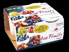 Yaourts aux fruits 4x125G Bio