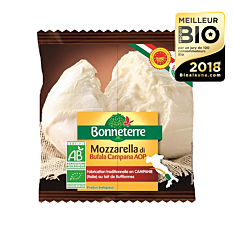 Mozzarella Di Bufala Campana AOP 125G Bio
