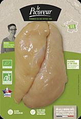 Filet de Poulet Blanc x2 320g Bio