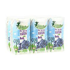 Pack Pur jus de raisin 6x20Cl Bio