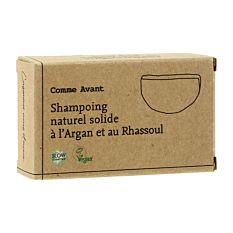 Shampoing solide à l'Argan et au Rhassoul 70g Bio