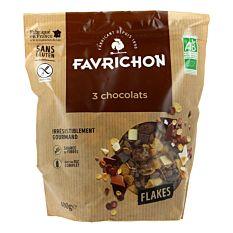 Flakes 3 Chocolats 450G Bio