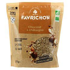 Muesli Chocolat Chataigne 375G Bio