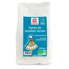 Farine de Lentilles Vertes 500g Bio