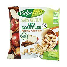 Soufflés pomme cannelle 20g Bio