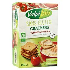 Crackers tomate paprika sans gluten 150g Bio