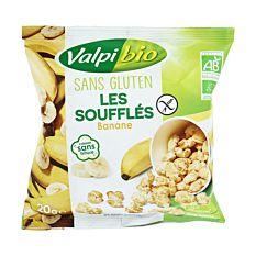 Soufflés banane 20g Bio