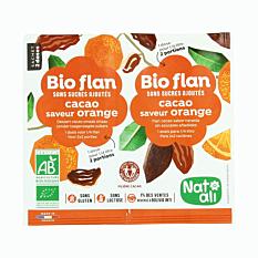 Bioflan Chocolat Orange 2X1/4L