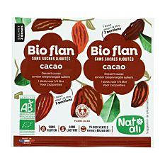 Bio-flan Chocolat 2x1/4L