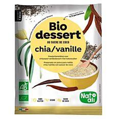 Préparation crème dessert chia vanille 60G Bio