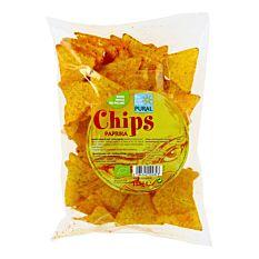 Chips de maïs au paprika 125G Bio