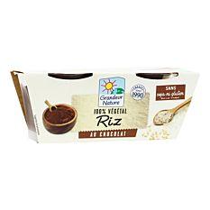 Dessert Riz Chocolat 2X100G Bio