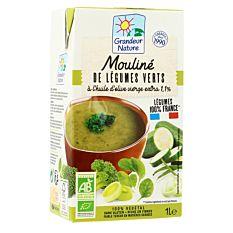 Mouliné de légumes verts français 1L Bio