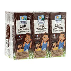 Lait Chocolaté Uht 6x20cl Bio
