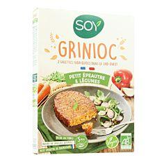 Grinioc Petit épeautre & Légumes 2x100g Bio