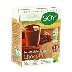 Boisson soja chocolat 20Cl Bio