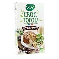 Croc Tofou Chevr Epinar 200G Bio