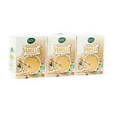 Boisson Soja à la Vanille 3x20cl Bio
