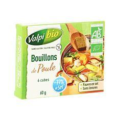 Bouillons De Poule Sans Gluten 80g Bio