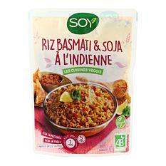 Riz Basmati & Soja à l'Indienne 220g Bio