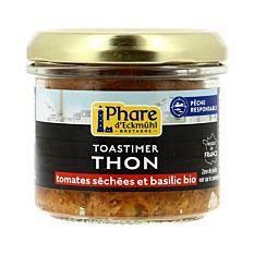 Toastimer de Thon Tomates séchées et Basilic 100g