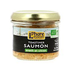 Rillettes de saumon aneth et citron 90g Bio