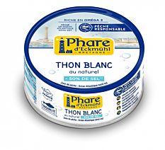 Thon blanc au naturel -50% sel 112g