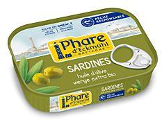 Sardines Huile Olive 135G