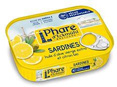 Sardines Olive Citron 135G