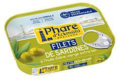Filets Sardines Olives 100G
