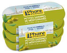 Sardines Olive 3X55G