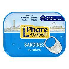 Sardines Naturel 95G