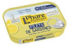 Filets Sardines Citron 90G