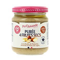 Puree 4 Fruits 200G Bio