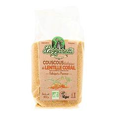 Couscous de lentille corail 400g Bio