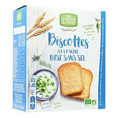 Biscotte Bisesss Sel 270G Bio