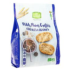 Pt Pain Grill Graine&Cer 225G Bio