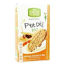 P'Tit Dej Chocolat Miel 190G Bio