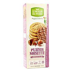 Sablés Noisette Chocolat au lait 130g Bio