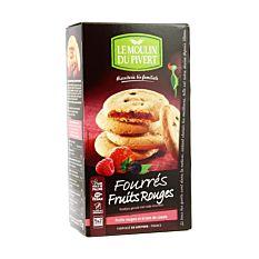 Cookies Fourres Fr Rouges 175G Bio