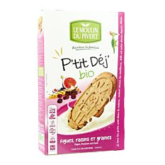 P'Tit Dej Fruits Graines 190G Bio