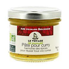 Pâte pour curry 105G Bio