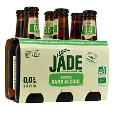 Bière Blonde sans alcool 6x25cl Bio