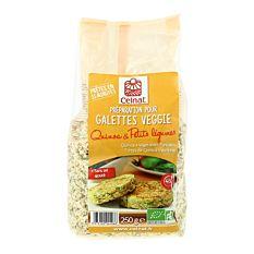Galettines de quinoa & petits légumes 250G Bio