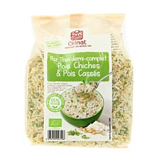 Mélange riz pois chiches 500g Bio
