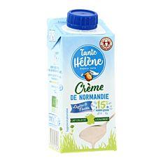 Crème Légère De Normandie 15% Uht 20cl Bio